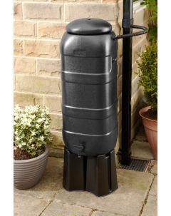 100L Black RainSaver Kit (Includes Multi Piece Stand and Diverter)