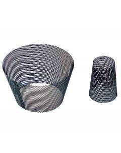 two parts to the mesh insert.