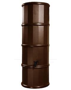 110L Slimline Polybutt Water Butt - Oak