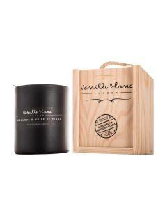 Vanilla Blanc Bergamot & Huile de Ylang Matt Edition Kosher Soy Candle in Gift Box