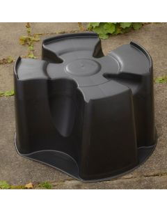 Black Single Piece Water Butt Stand