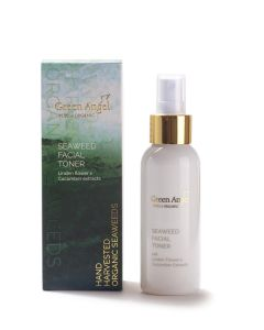 100ml Green Angel Organic Seaweed Facial Toner with Linden Flower & Cucumber Extracts
