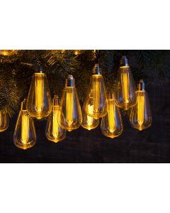 30 vintage valve style light bulb chain