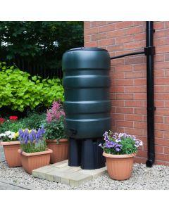 150L Standard Barrel Water Butt with Stand & Diverter
