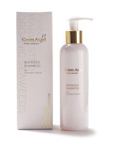 200ml Green Angel Organic Seaweed Shampoo with Lavender & Neroli