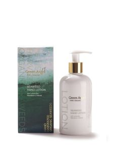 300ml Green Angel Organic Seaweed Hand Lotion with Lavender, Mandarin and Neroli
