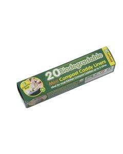 20 x 5L Biodegradable Compost Caddy Liners