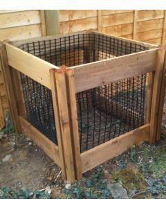 400 Blackdown Range Single Leaf Mould Wooden Composter