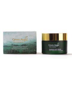 50ml Green Angel Organic Seaweed Foot Cream with Peppermint & Tea Tree Oils