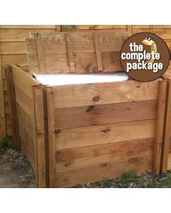600 Blackdown Range Single Deluxe Standard Wooden Composter