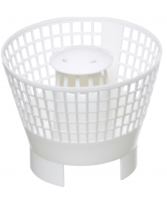 Filter Basket for Gutter Mate for Filter and Diverter in White