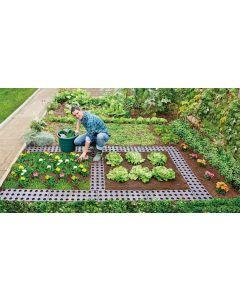 4 Set Maxi Garden Boards - Dark Brown
