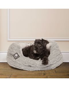Danish Design Medium Bobble Pewter Deluxe Slumber Bed