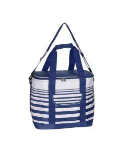 Cooler Bag 12 Litre Stripe Blue