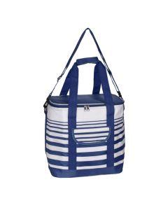 Cooler Bag 24 Litre Stripe Blue