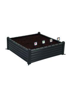 336L Raised Garden Bed - Whiskey Brown