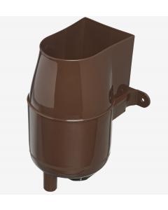 Brown Gutter Mate Diverter & Filter