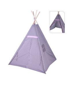 TIPI Teepee Tent White Star Design