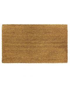 Plain Natural Latex Coir Doormat 40 x 70cm