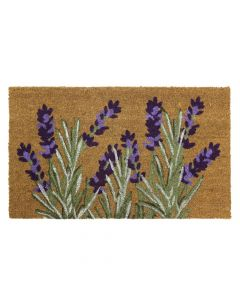 Lavender Latex Coir Doormat 45 x 75cm