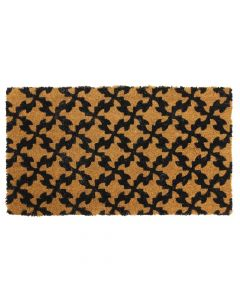 Pattern Latex Coir Doormat 40 x 70cm