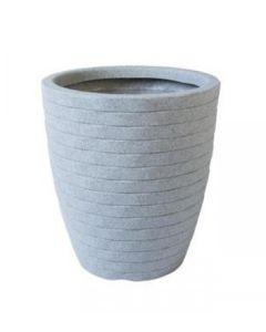 Lattice Planter - White Granite Colour