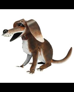 Metal Dog Ornament