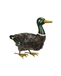 Metal Mallard Duck Ornament