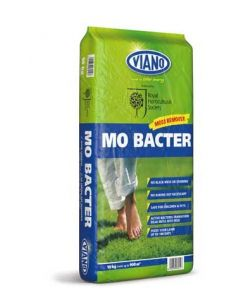 RHS Viano Lawn Care MO Bacter Organic Lawn Fertiliser 10kg Bag