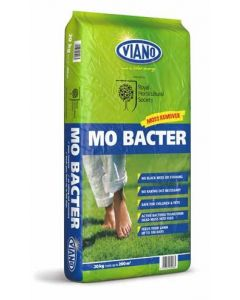 RHS Viano Lawn Care MO Bacter Organic Lawn Fertiliser 20kg Bag