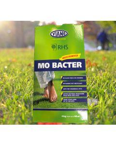 RHS Viano Lawn Care Mo Bacter Organic Lawn Fertiliser 4kg Box