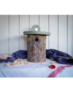 National Trust Natural Log Bird Nester