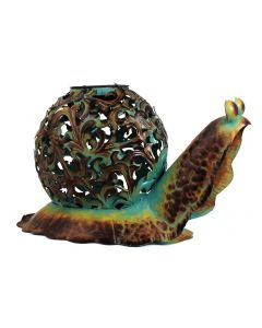 Solar Powered Snail Garden Ornament