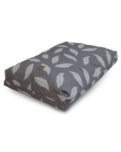 Danish Design Retreat Large Eco-Wellness Feather In Duvet Grey/Duck Egg