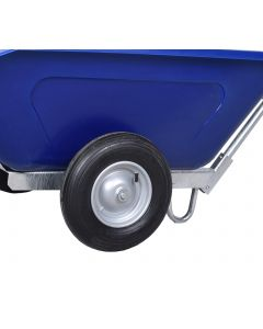 Pneumatic Wheelbarrow Wheel In Silver - 4PLY