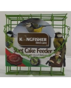 Suet Cake Holder - Light Green