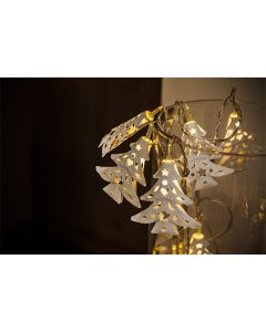 Metal Filagree Tree Light Chain with 10LEDs