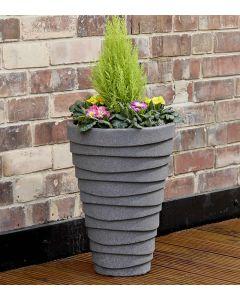 Trojan Planter Small 33cm - Granite