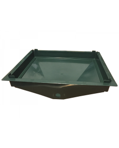 Tiger Wormery Drainage Sump Tray Green