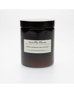 Vanilla Blanc Grosso Lavender & Wild Vetivert Coconut Wax Candle 170ml
