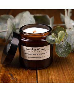 Vanilla Blanc Lemongrass & Eucalyptus Dives Coconut Wax Candle 120ml