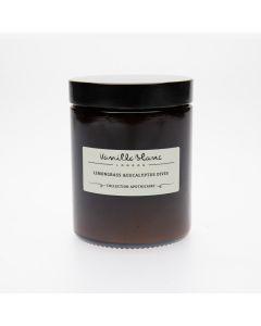 Vanilla Blanc Lemongrass & Eucalyptus Dives Coconut Wax Candle 170ml