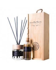 anilla Blanc Bergamot & Huile de Ylang (Oil of Ylang) Natural Reed Diffuser with refill in Gift Box