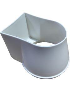 Gutter Mate Diverter & Filter - Top Only (White)