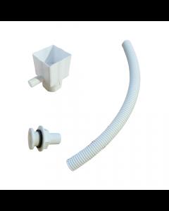 Standard Rain Diverter Kit - White